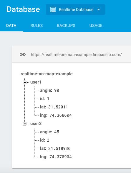 Realtime moving Cars on Google Maps JavaScript & Google Firebase