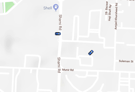 Realtime Moving Cars on Map using Firebase