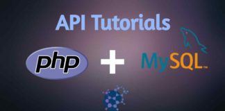 php mysql api tutorials