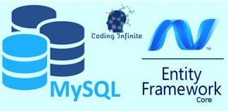mysql-dotnet core