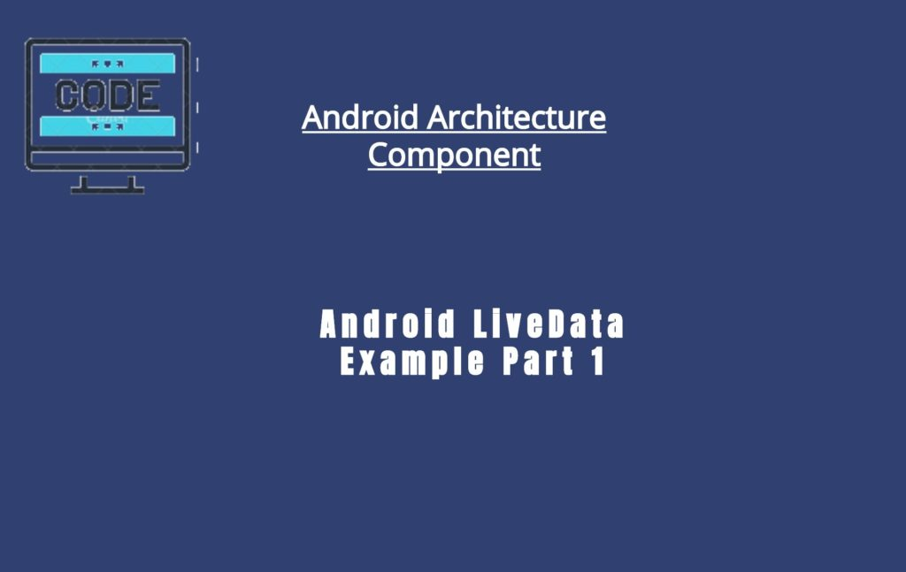 Android LiveData Image