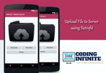 android image upload with retrofit