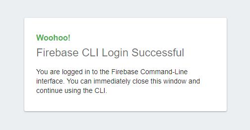 Firebase CLI Tools