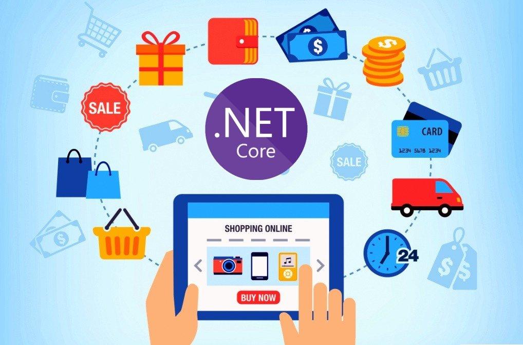 dotnet core ecommerce store