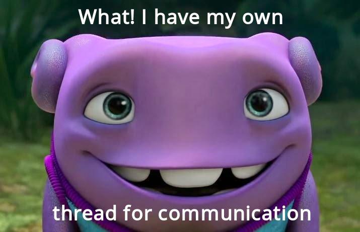Promgramming thread meme