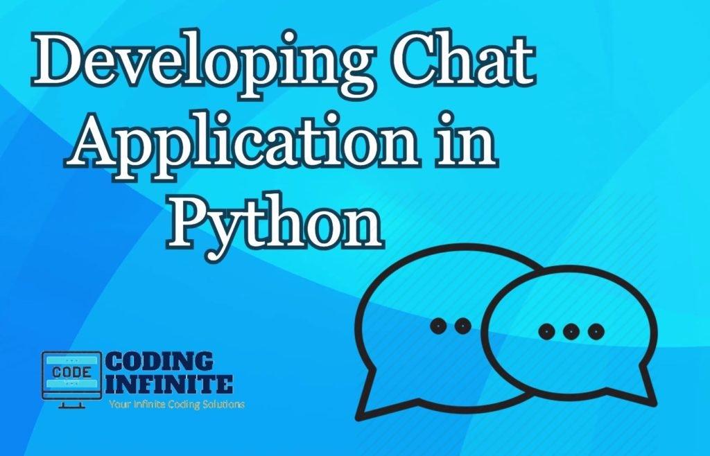 python chat application tutorials