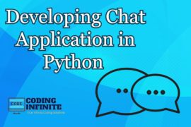 python chat application tutorials