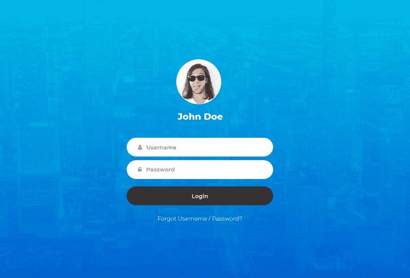 django login page tutorial