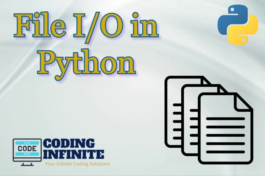 File I/O in Python