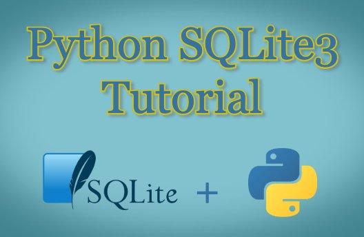 python sqlite3 tutorials