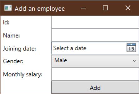 datagrid add form