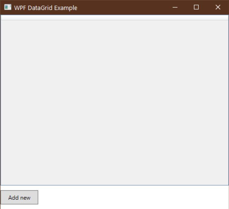 datagrid mainwindow example