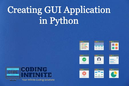 Creating GUI Application in Python