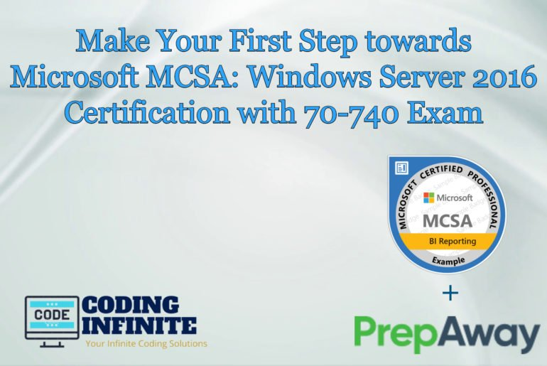 Microsoft MCSA: Windows Server 2016 Certification with 70-740 Exam