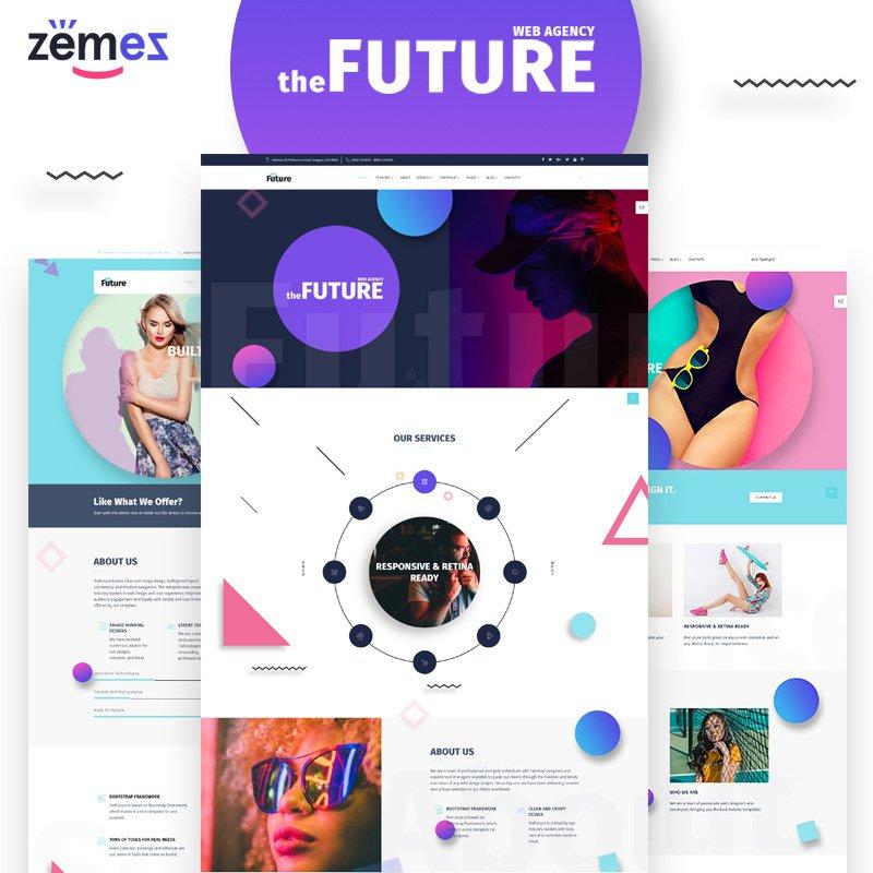 THE FUTURE MULTIPURPOSE HTML5 TEMPLATE