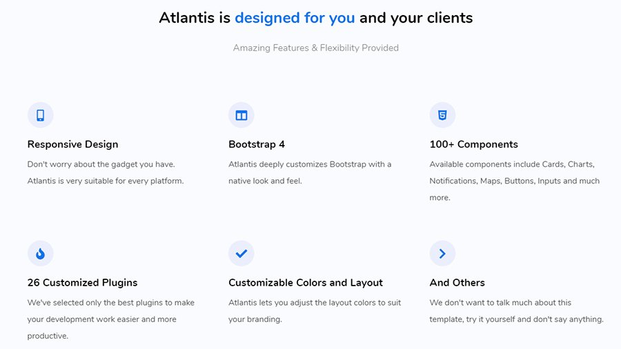 Atlantis-Features