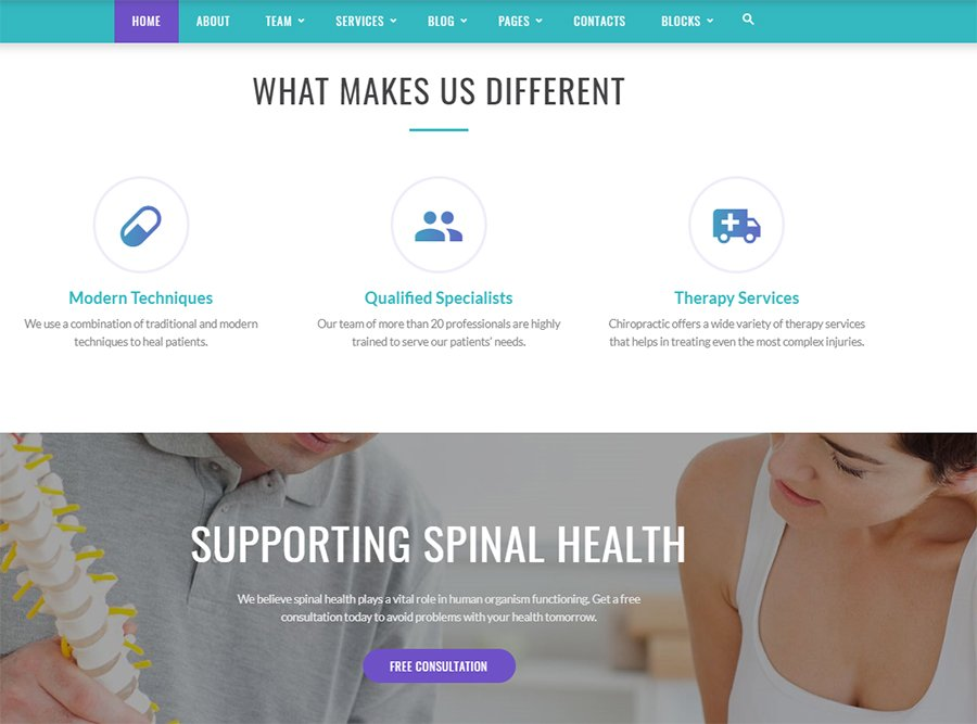 Spinecare-features