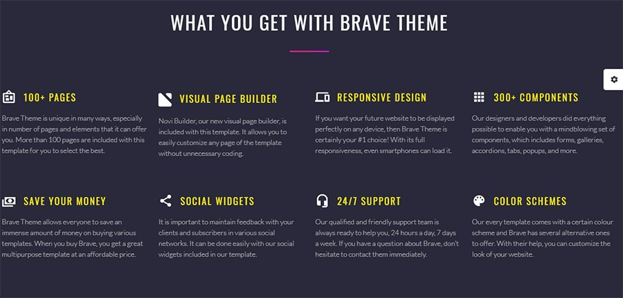 brave-template-features