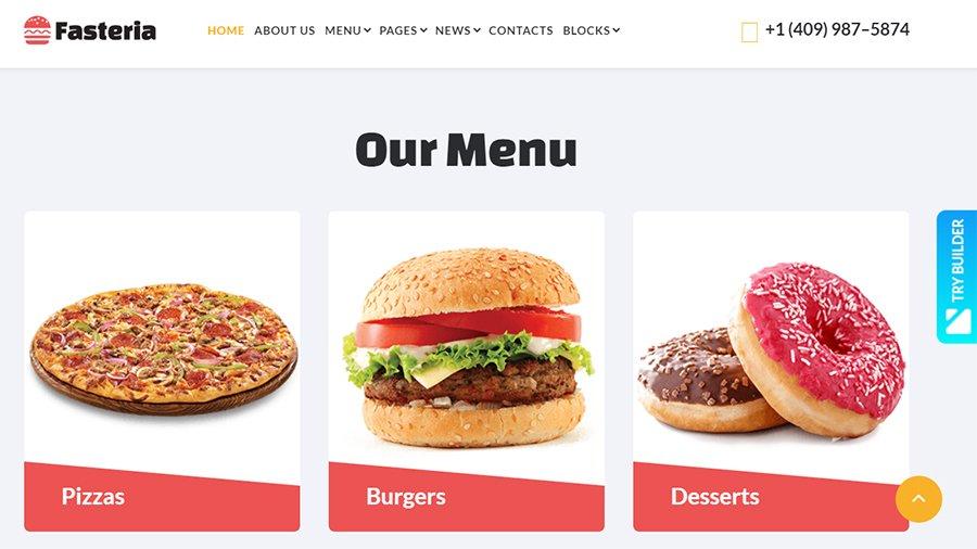 fasteria-template-menu