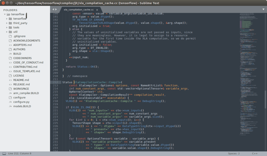 SUBLIME TEXT ide