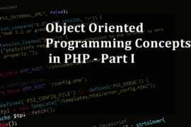 object oriented programming in php