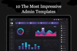 10 The Most Impressive Admin Templates