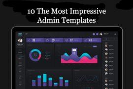 10 The Most Impressive Admin Templates