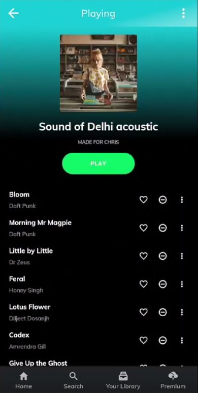 Ionic 4 Spotify App Template