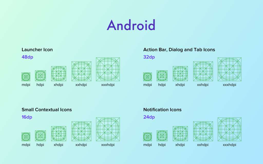 Android grid